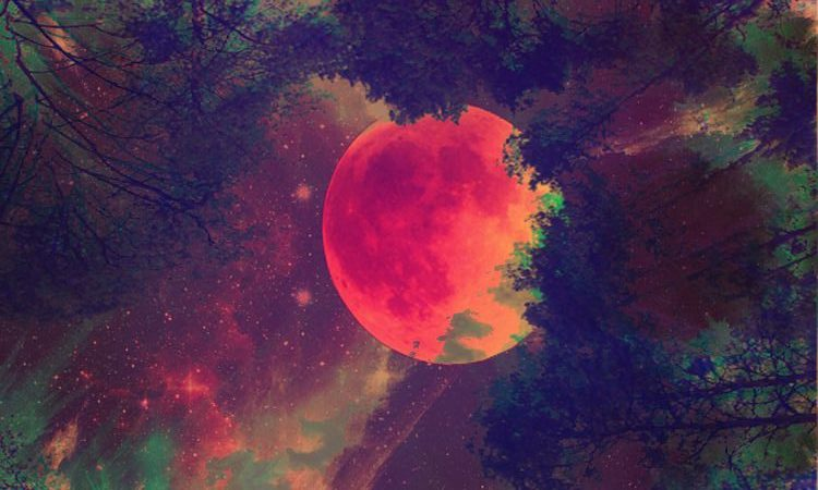 blood moon pinterst